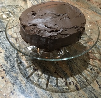 Mom's Chocolate Quinoa Cake.