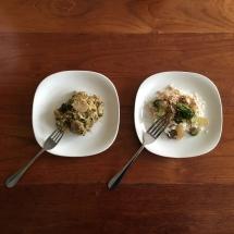 Slow cooker versus stovetop.