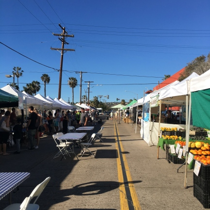 PB Farmers' Market on Tuesdays from 2-7pm