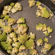 Romanesco ready to roast