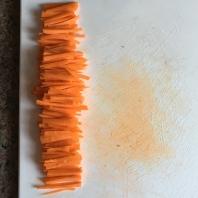 Matchstick carrots
