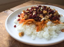 Alli's shot: Persian jeweled rice