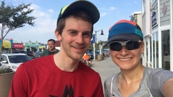 Me and Alex after completing the Justin's Beach House 5k run in Bethany Beach, DE.