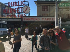 After the marine layer burned off, we enjoyed a sunny afternoon stroll in downtown Seattle.