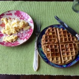 I like to use our prettiest plates for brunches.